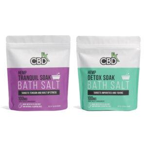 CBD FX Bath Salts - 100mg, Assorted Varieties