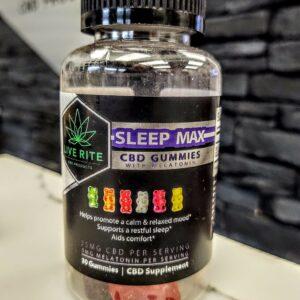 Live Rite Sleep MAX CBD Gummies - 750mg