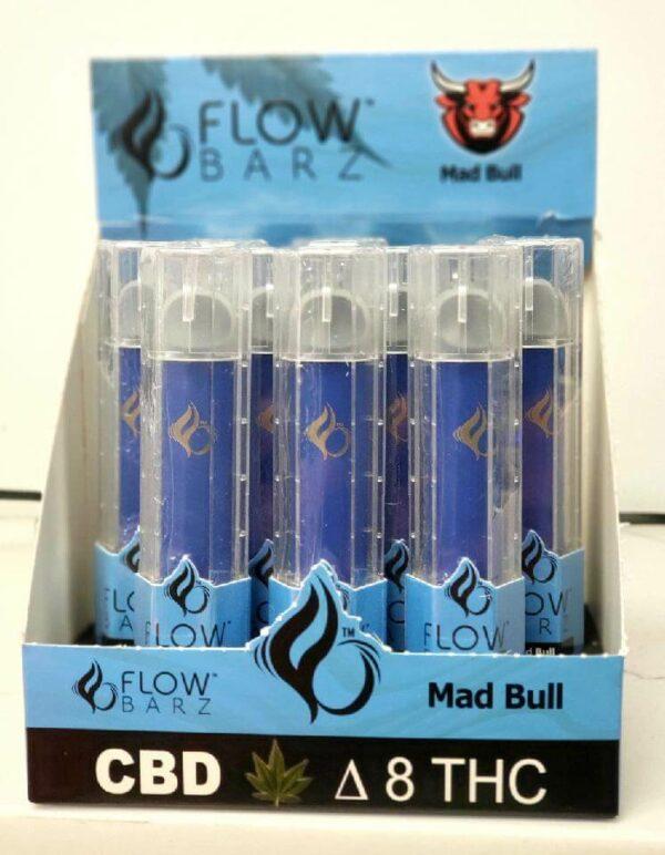 Variation #9685 of Flow Barz Delta 8 / CBD Vape Disposable Pen 500mg, Assorted Flavors