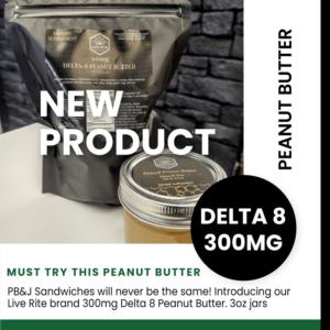 Delta 8 peanut butter