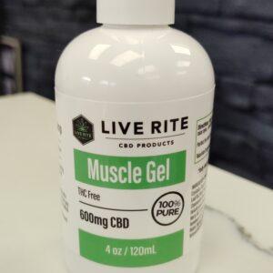 Live Rite Muscle Gel 600mg