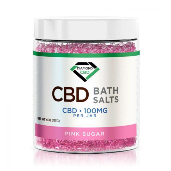 Diamond CBD Bath Salt - 100mg - Assorted Varieties
