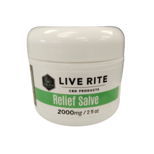 Live Rite Relief Salve 2000mg