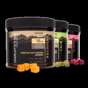 Charlotte's Web Hemp-Infused Gummies 300mg - Various Flavors