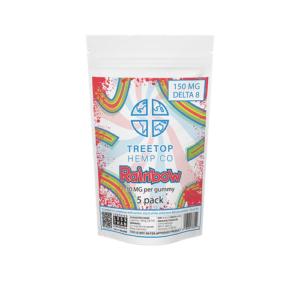 Treetop Delta 8 Gummies 300mg, Assorted Flavors