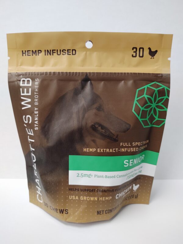 Charlotte's Web Hemp Pet Chews - Senior