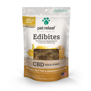 Pet Releaf Small and Medium Breed 60mg Edibites - Assorted Flavors