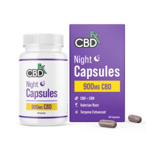 CBDFx Night Capsules For Sleep 900mg