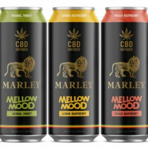 Marley Mellow Mood 25mg CBD Infused Tea 16oz, Assorted Flavors