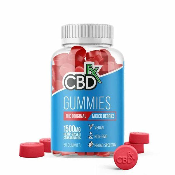 CBD Fx CBD Gummies 1500mg - Assorted Varieties