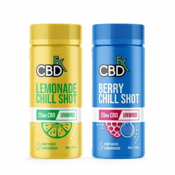 CDB Fx Chill Shot 20mg - Assorted Flavors